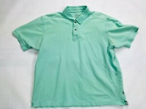 Mens-Tommy-Bahama-Short-Sleeve-Polo-Shirt-SIZE-XL-Green