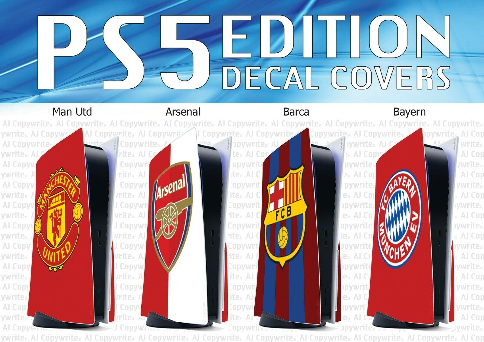 PS5 Custom Made Decal Covers - Any Design (The Best Decals on eBay)