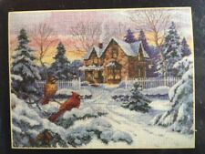 Dimensions Gold Collection WINTER MEMORIES Cross Stitch Kit # 35155