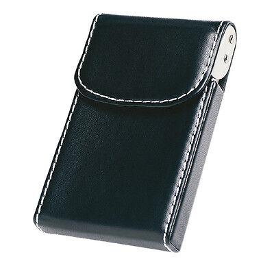 20 Carte Pu Pelle Di Lusso Id Credito Tasca Business Card Holder Portafoglio Box Clip-mostra Il Titolo Originale