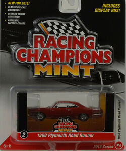 Racing-Champions-Mint-Collection-1968-Plymouth-Road-Runner-1-64-RC001