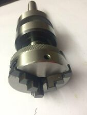 Precision Revolving Centre MT3 shank with 3 Jaw 65 mm Chuck mounting for Lathes Tailstock