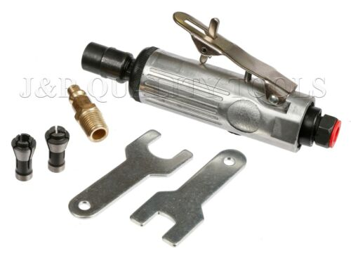 """1//4/"""" Mini Compact Air Pneumatic Die Grinder Front Exhaust Polisher Cutting Tool"""