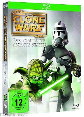 Star Wars The Clone Wars Blu Ray Temporada 6 Sexta Completa Nuevo Sin Abrir Ebay