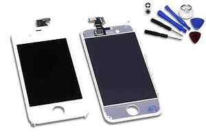Retina-Display-fuer-original-iPhone-4-weiss-Glas-Touchscreen-amp-Gitter-LCD-Haendler