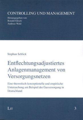 Entflechtungsadjustiertes Anlagenmanagement von Versorgungsnetzen: Eine theoreti