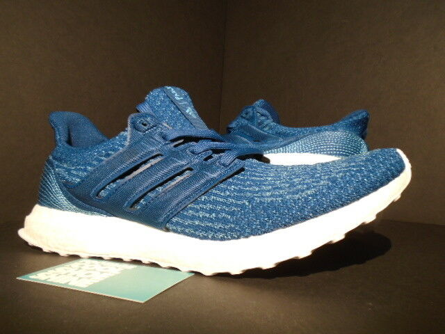 ADIDAS ULTRA BOOST PARLEY OCEAN M 3.0 blueE NIGHT CORE VAPOUR WHITE BB4762 10.5