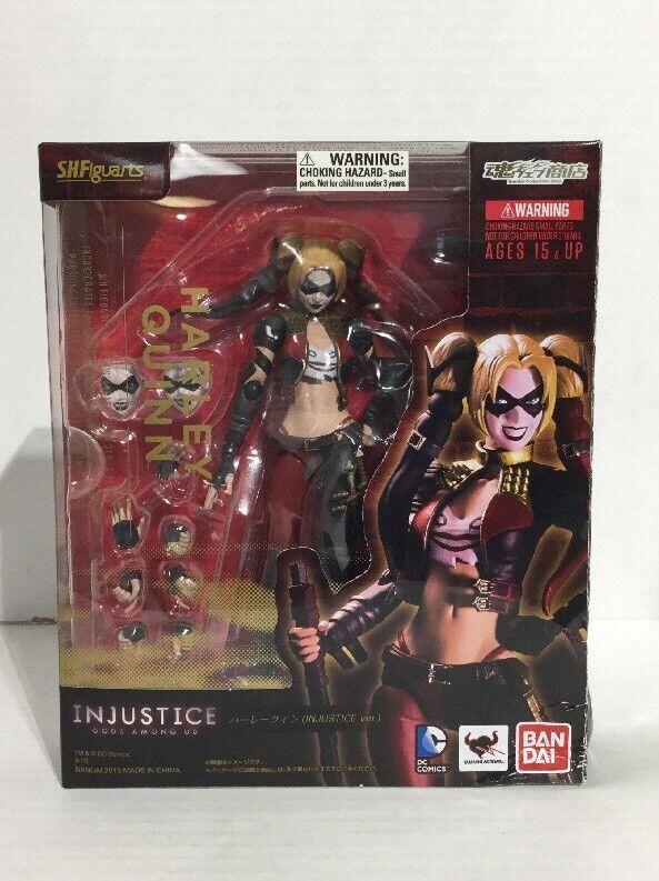 Harley Harley Harley Quinn Suicide Squad Injustice Version Figuarts Bandai Figure 2015 DC 3cef2b