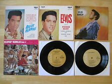 Elvis Lot (2) 45rpm EP records & (4) Picture Sleeves,  RCA releases in AUSTRALIA