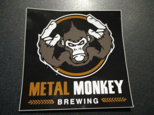 METAL MONKEY BREWING Asmodeus Illinois STICKER decal craft beer brewery