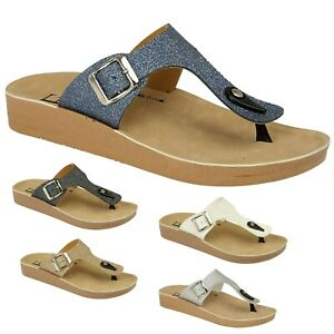 WOMENS SLIP ON SLIPPERS SLIDERS SLIDES SHOES UK SIZE 3 4 5 6 7 8  LEATHER MULES