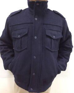 324f4a6fb96f Men s Jordan Craig Jacket Navy Poly Wool with Applets and Pockets ...