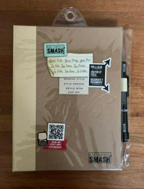 SMASH Tasty Folio - Scrapbooking > Folio / Journals ... |Smash Folio Journal Kit