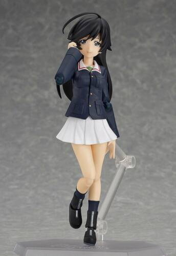 figma EX-031 Girls und Panzer Ankou Team Set Figure Max Factory From Japan F//S