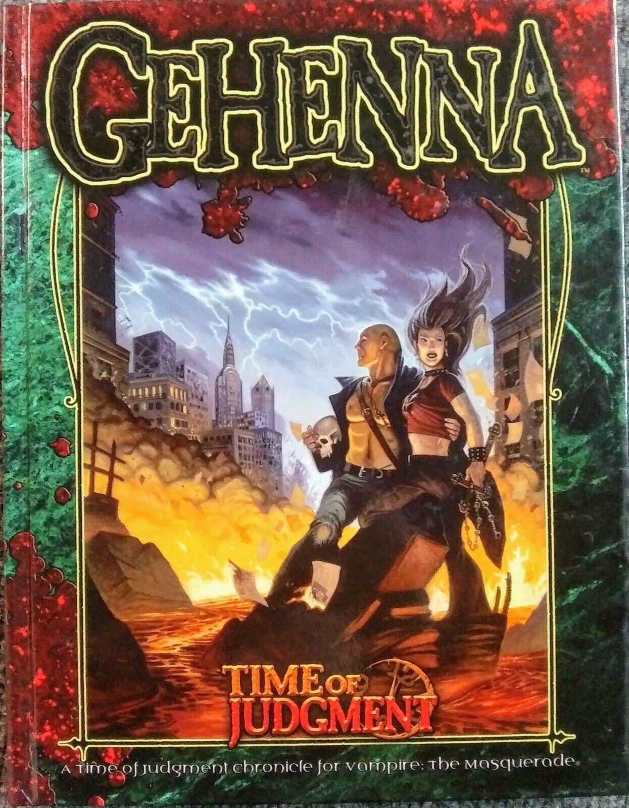 Vampire the Masquerade  Gehenna Time of Judgement Hardcover New RPG White Wolf