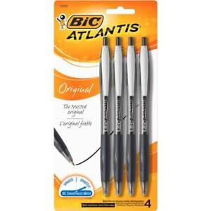 BIC-Atlantis-Retractable-Ballpoint-Pens-Black-4-Pack