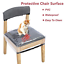 wener plastic chair seat covers,dining room chair covers,clear pvc waterproof 4