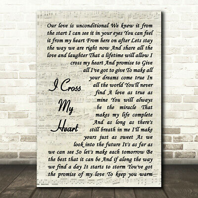 Take Over The World Script Heart Song Lyric Quote Print