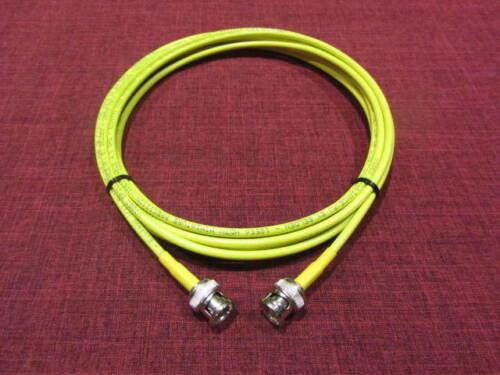 30 ft. Belden 1855A HD-SDI Mini RG59 Video Cable D BNC Male to Male Yellow