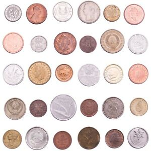 SET-OF-30-COINS-FROM-30-DIFFERENT-COUNTRIES-COINS-LOT