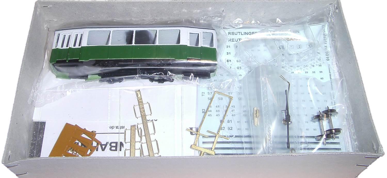 Spieth   Hummel 5205RT Beiwagen Beiwagen Beiwagen 79-82 der Reutlinger Straßenbahn HO oder HOm neu  | Hohe Qualität und günstig  cedb8d