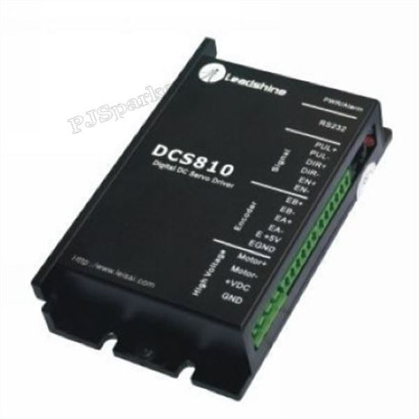 New Digital Dc Brush Servo Drive 80VDC 20A Leadshine DCS810 xx