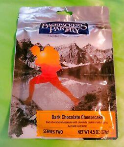 Backpacker's Pantry DARK CHOCOLATE CHEESECAKE 4oz 2 SERVINGS Camp survival Food