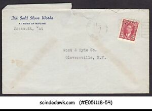 CANADA-1941-ENVELOPE-TO-NEW-YORK-USA-WITH-KGVI-STAMP