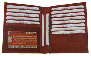 AG-Wallets-Mens-Leather-Large-Hipster-Bifold-Credit-Card-Id-Wallet-Euro-Burgundy