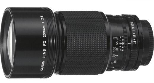 Canon Fd 200mm F 2 8 Fd Lens For Sale Online Ebay