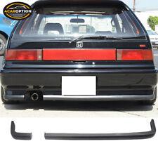 Fit 88 91 Honda Civic Ikon 2pc Rear Bumper Lip