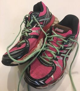 ASICS GEL-NIMBUS 16 Women's Running Shoes Womens Pink