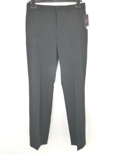 Top NYDJ Women's Trousers Size 6 36 Black Straight Fit A29 Cloth Np 139 New hot sale