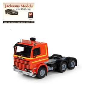 Tekno 71718 Scania 2 Series 6x4 LHD orange 1 50 Scale