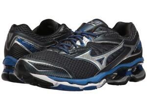 Mizuno-Wave-Creation-18-Men-039-s-Running-Shoes-Size-7-Blue-Silver-J1GC160106