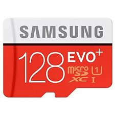 Samsung EVO Plus 128 GB microSDXC Card SD With Adapter  Micro Sd 128GB..