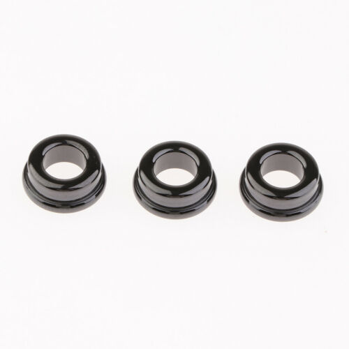 10PCS Fishing Rod Guide Eye Ring Black DIY Pole Ceramic Rings