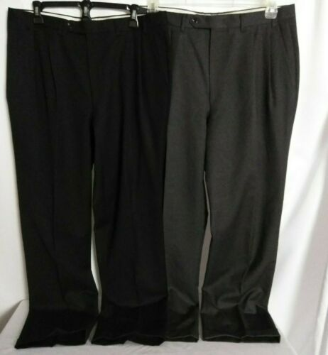 Canali Proposta Lot of 2 Pleated Dress Pants Trous