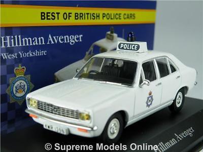 Hillman Avenger West Yorkshire Polizei Metallauto 1:43 Atlas Diecast