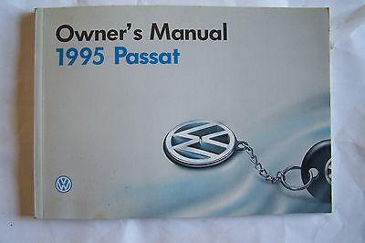 vw passat owners manual  original ebay