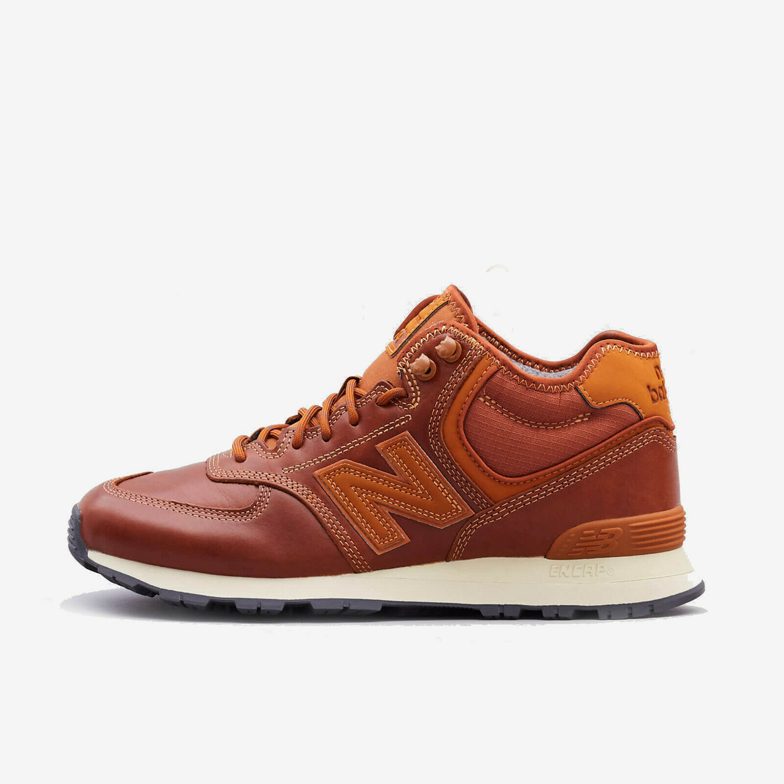 NEW BALANCE MH574OAD BROWN LEATHER