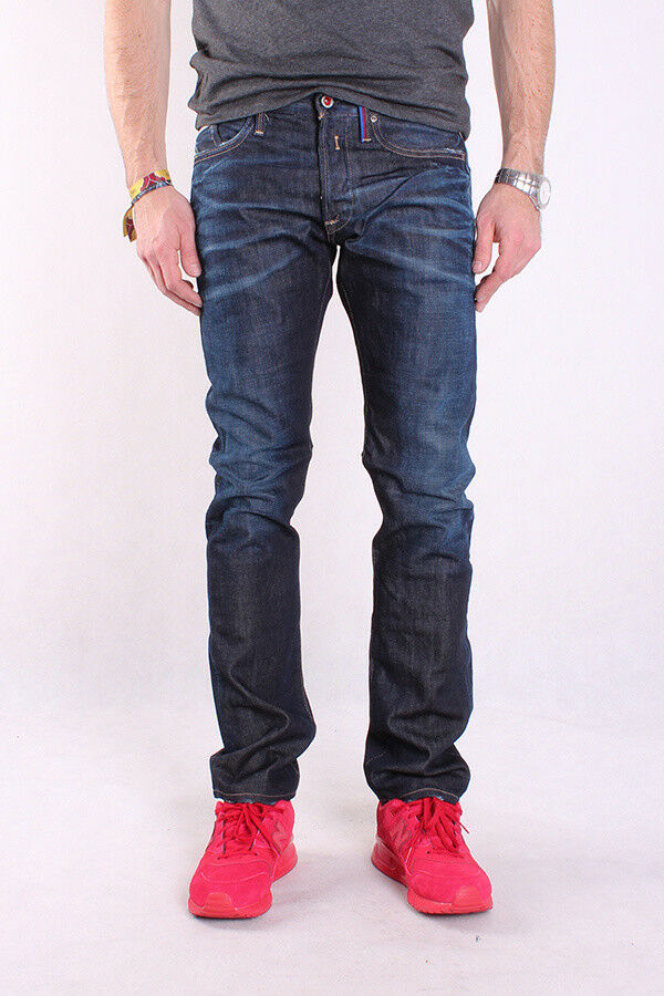 REPLAY m983 118 c47 001 Waitom, Waitom, Waitom, Uomo Jeans, classica blu denim, Regular 1dd3bb