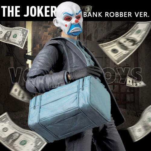 "1:12 Scale Joker Batman Model 6/"" MAFEX The Dark Knight  Action Figure Collect"