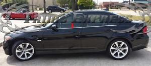 2005-2013-BMW-3-Series-E90-E91-E92-E93-Sedan-Chrome-4Pc-Window-Sill-Trim