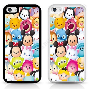 new arrival b0250 ebee1 Details about Cover Case Disney Tsum Tsum for iPhone Samsung Sony Plush  Mini Toy Mickey