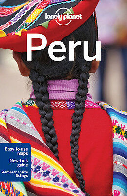 Lonely Planet Peru *FREE SHIPPING - NEW*