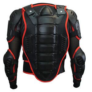 Protectores-camisa-protectores-camisa-chaqueta-Protektor-Armour-Jacket-armadura-rojo
