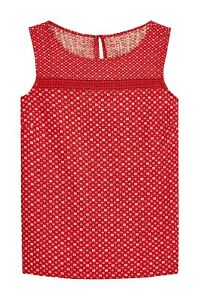 Next-10-20-Linen-Blend-Red-Geo-Floral-Print-Summer-Holiday-Vest-Shell-Top
