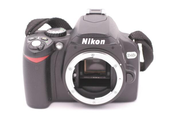 2019 DernièRe Conception Nikon D40x 10.2mp Caméra Slr Numérique - Noir (corps Seulement) Performance Fiable