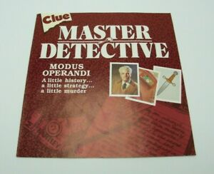 Details about  /Clue Master Detective Board Game Replacement Parts Pieces